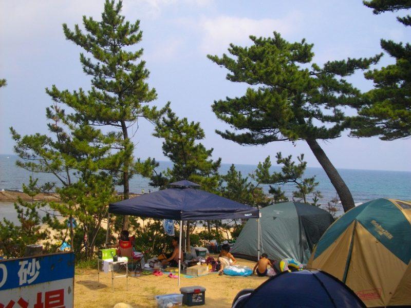 琴引浜掛津キャンプ場