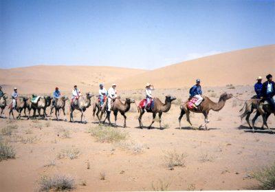 鳴き砂調査団(中国・巴丹吉林砂漠)